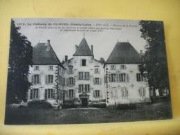 43 3980 CPA 1929 - 43 LE CHATEAU DE CLUZEL. XIVe SIECLE. BERCEAU DE LA FAMILLE DE BOUILLE... - Francia