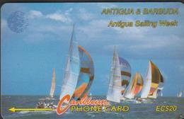 ANTIGUA & BARBUDA 13CATB CARAÏBES EC$20  SAILING WEEK VOILIERS - Antigua And Barbuda