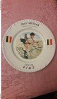 Superbe Assiette Eddy Merckx Exclusivité Vallauris Record De L'heure - Cyclisme