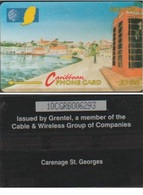 GRENADA 10CGRB CARAÏBES EC$20 CARENAGE ST GEORGES - Grenada