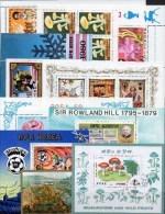 Rosen Motive Block-Puzzle PD 10 Blocks/Kleinbogen O 50€ Sport Kunst Bloque Hb Bloc Art Sheet M/s Sheetlet Bf Topics - Timbres