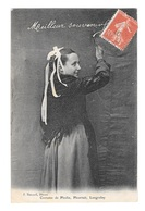 (21724-22) Costume De Pleslin - Pleurtuit - Langrolay - Meilleur Souvenir - Frankrijk