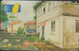 GRENADA 9CGRC CARAÏBES  EC$40 SCENE RUE GOUVYAVE - Grenada