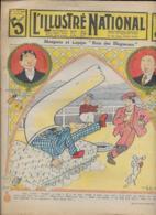 """L' ILLUSTRE NATIONAL   N° 14  6Avril  1913   MONPOTO ET LAPIPE """" ROIS DES BLAGUEURS """" - Journaux - Quotidiens"""