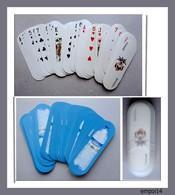ORIGINAL JEU DE 54 CARTES OVALES - Publicite NESTLE EAU AQUARELLE - Dans Leur Etui Plastique - Group Games, Parlour Games