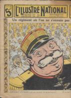 L' ILLUSTRE NATIONAL   N° 17  27 Avril  1913   Un Régiment Ou L' On Ne S' Ennuie Pas - Periódicos