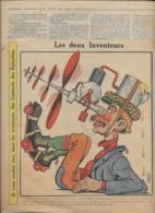 SUPPLEMEN ILLUSTRE Du Petit Comtois  N°23 9 Juin 1912 Les DEux Inventeurs - Other