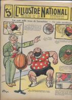 L' ILLUSTRE NATIONAL  N°24 15 Juin 1913   Les Cent Mille Trucs De Lacombine - Libros, Revistas, Cómics