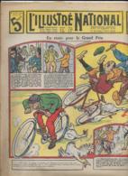 L' ILLUSTRE NATIONAL  N°25  22Juin 1913   En Route Pour Le Grand Prix - Libros, Revistas, Cómics