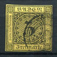 42545) BADEN # 2 B Gestempelt Aus 1851, 20.- € - Baden