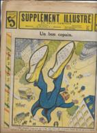 SUPPLEMENT ILLUSTRE Du Petit Comtois  N°26  30Juin 1913  Un Bon Copain - Other