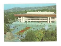 04497 Almaty Alma-Ata Abai Monument Soviet Modernism Arсhitecture - Kazakhstan