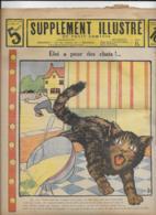 SUPPLEMENT ILLUSTRE Du Petit Comtois  N°27  7 Juillet 1913  Eloi A Peur Des Chats !... - Livres, BD, Revues