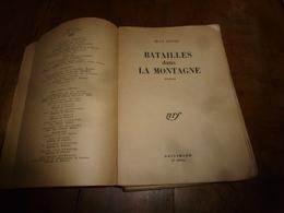 1937 BATAILLES DANS LA MONTAGNE , Par Jean Giono - Livres, BD, Revues