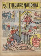 L' ILLUSTRE NATIONAL   N°34  24 Aout 1913  Le Concours De L' Astèque Complet - Bücher, Zeitschriften, Comics