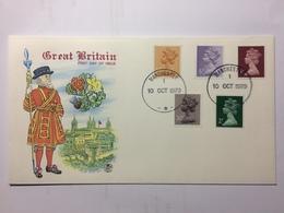 GB - 1979 Machin Illustrated FDC - 1952-.... (Elizabeth II)