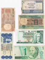6 BILHETES DE VÁRIOS PAISES - Banknotes