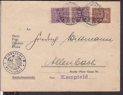 Dienstmarken Deutsches Reich Stempel Berncastel - Cues 1922 - Lettres & Documents