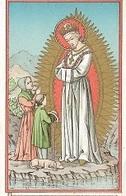 DI/13/ NOTRE DAME DE LA SALETTE     LITHO  + GOUDOPDRUK - Religione & Esoterismo