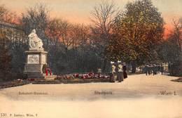 Oostenrijk Wenen  Wien   Stadtpark  Schubert-Denkmal   X 4345 - Vienna