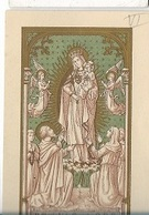 DI/13/ B.MARIA V. DE MERCEDE    LITHO  + GOUDOPDRUK - Religione & Esoterismo