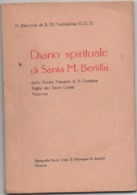 Diario Spirituale Di Santa Maria Bertilla Boscardin. Vicenza 1961. Pagine 64 - Religion