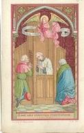 DI/13/ DE BIECHT      LITHO  + GOUDOPDRUK - Religione & Esoterismo