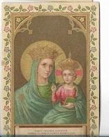 DI/13/ NOTRE DAME DE STRADA    LITHO  + GOUDOPDRUK - Religione & Esoterismo
