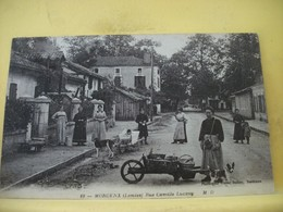 40 2929 MORCENX. RUE CAMILLE LUCXEY. 1913. ANIMATION - Morcenx