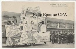 75 - Carnaval De PARIS - Char Des Cartes Postales +++ ELD +++ RARE / FANFARE - Frankreich
