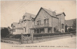 Pornichet (44) - Pension De Famille - Ker Sablé Et ND D'Arvor (+ Détail De La Carte) - Pornichet