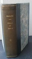 Livre Relié 1949 VOLTAIRE Romans Et Contes, Texte établie Sur L'édition De 1775... - Books, Magazines, Comics