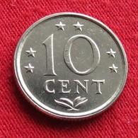 Netherlands Antilles 10 Cents 1978 KM# 10  Antillen Antilhas Antille Antillas - Antilles Neérlandaises