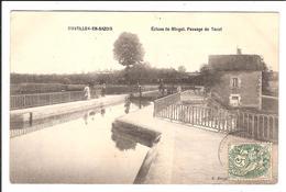 CHATILLON-en-BAZOIS-. Cpa   - Écluse De Mingot. Passage Du Tacot  (scans Recto-verso) - Chatillon En Bazois