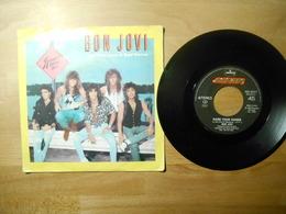 Bon Jovi - You Give Love A Bad Name - 45 Giri - Polygram 1986 Italia - 45 Rpm - Maxi-Single