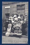 Virton. Carte-photo Pensionnat De L'Immaculée Conception. Classe D'Alliance. Photo Louis Lenzen, Bertrix - Virton