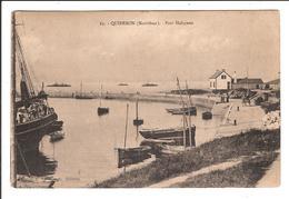 QUIBERON. Cpa   - Port Haliguen.  (scans Recto-verso) - Quiberon