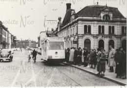 Photographie De Tram N°8 Belgrade Jambes Devant La Gare De Namur - Other