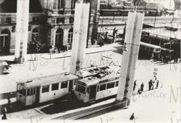 Photographie De Trams Devant La Gare De Namur Vue De Haut - Other