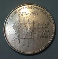 Jordanie - 2 1/2 Piastres - 1996 - Km 53 - UNC - Agouz - Jordan