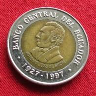 Ecuador 100 Sucres 1997 KM# 101 Equador Equateur - Equateur