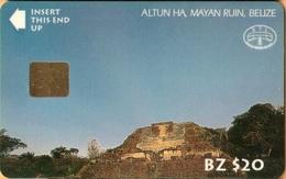 Belize - BLZ-BTL-02, Altun Ha, Mayan Ruin, Ruins, 20$, Used - Belize