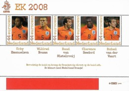 Pays-Bas Netherlands EURO Football 2008 Timbres Personnels TNT / PNL, 1 SS Mnh - Championnat D'Europe (UEFA)