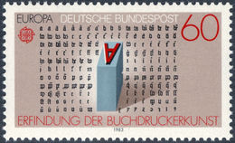 GUTENBERG, J. - Germany 1983 Michel # 1176 ** MNH - Historical Gutenberg Letters - Other