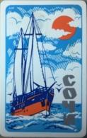 SOCHI : 081001 -u Schooner(Sailboot)SOCHI USED - Russia