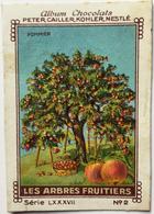 Chromo Image Album Chocolats PETER, CAILLER, KOHLER, NESTLE, Série LXXXVII N° 2 - LES ARBRES FRUITIERS - POMMIER - Nestlé