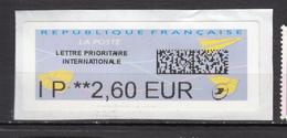 ##4, France, Lettre Prioritaire Internationale - 2000 «Avions En Papier»
