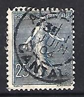 France 1903  Semeuse (o) Yvert 132 - 1903-60 Säerin, Untergrund Schraffiert