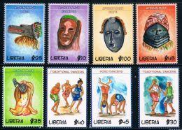Liberia 2009 Traditional Folk Dance Mask 8 - Liberia