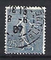 France 1903  Semeuse (o) Yvert 132 - 1903-60 Sower - Ligned